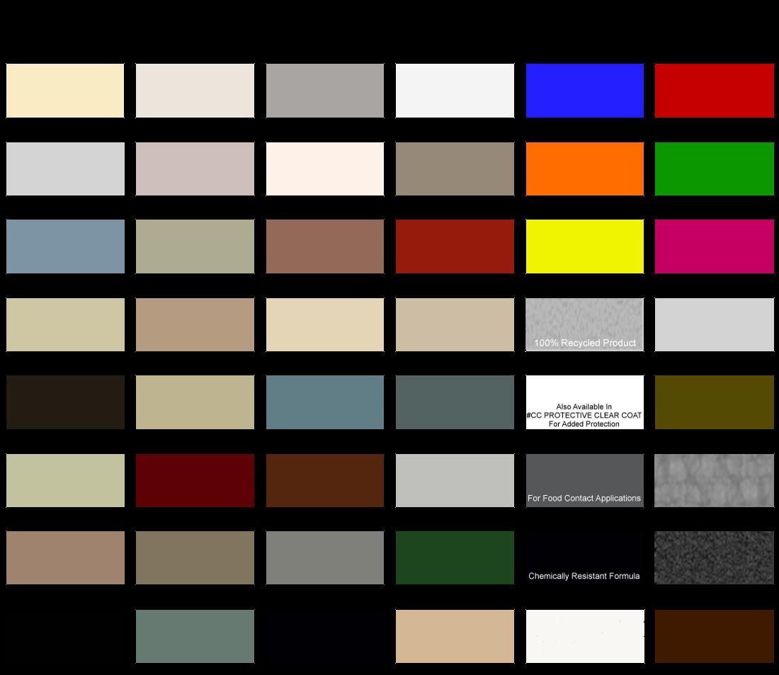 Library Bureau Steel – Sample Pantone Color Chart