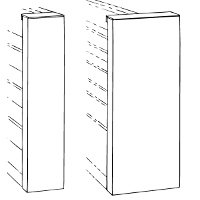 Single And Double Faced Steel End Panels