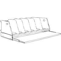 Sliding Reference Shelf